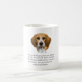 Beagle Keepsake MALE Coffee Mug