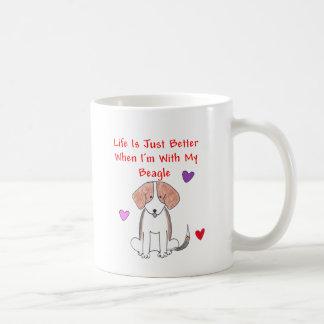 Beagle Life Is Just Better Mug