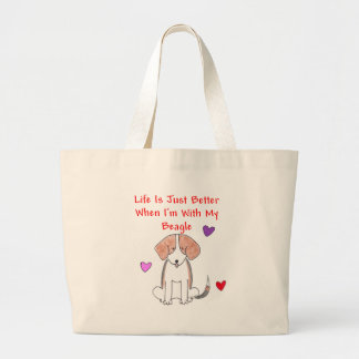 Beagle Life Is Just Better Tote Bag