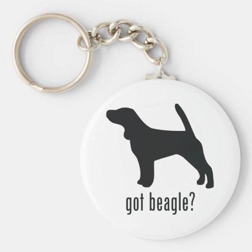 Beagle Llavero Redondo Tipo Pin