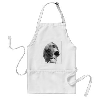 Beagle Love Adult Apron