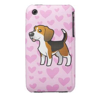 Beagle Love iPhone 3 Case-Mate Cases