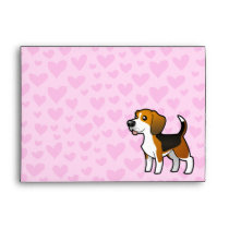 Beagle Love Envelope