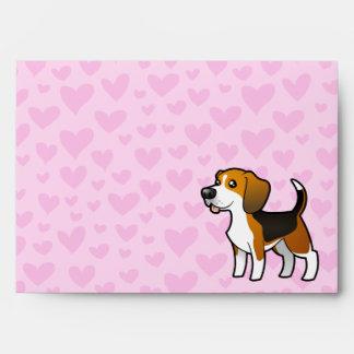 Beagle Love Envelope