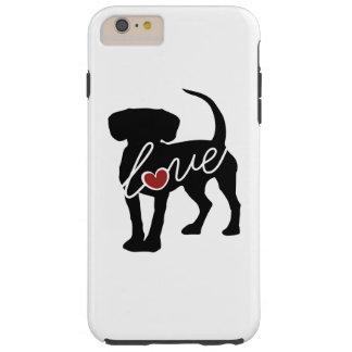 Beagle Love Tough iPhone 6 Plus Case