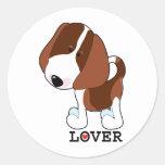 Beagle Lover Sticker