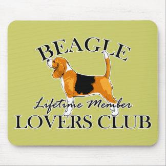 Beagle Lovers Club Mouse Pad
