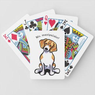 Beagle Me Manipulate Off-Leash Art™ Bicycle Card Deck