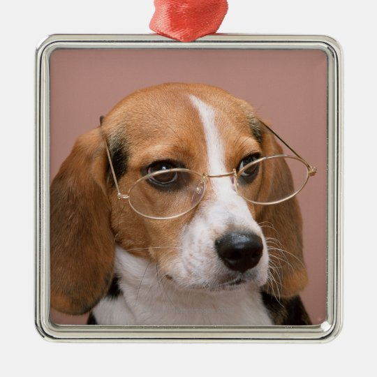 Beagle Metal Ornament