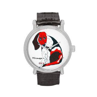 Beagle mi reloj de Bill del amigo