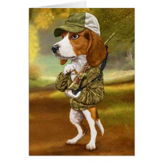 Beagle - Mighty Hunter Greeting Card