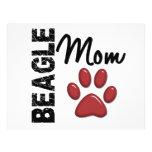 Beagle Mom 2 Flyer Design
