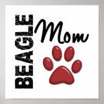 Beagle Mom 2 Print
