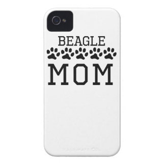 Beagle Mom iPhone 4 Case-Mate Cases