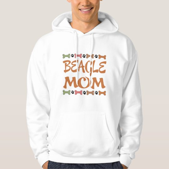 Beagle Mom Dog Pet Gift Hoodie