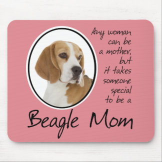 Beagle Mom Mousepad