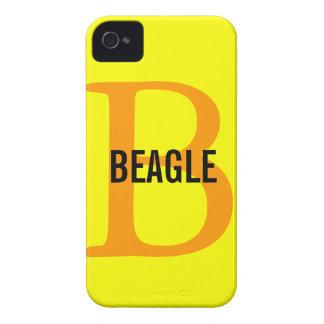 Beagle Monogram iPhone 4 Cases