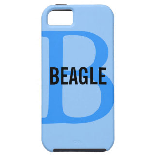 Beagle Monogram iPhone SE/5/5s Case
