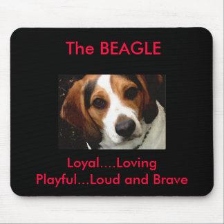 Beagle Mouse Mats