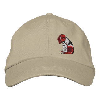 Beagle My Friend Bill Embroidered Hat
