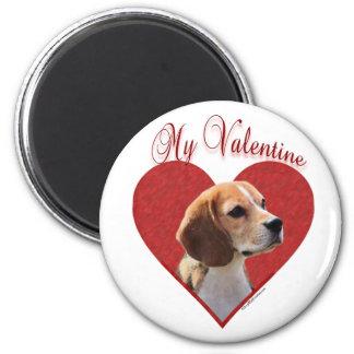 Beagle My Valentine - Magnet