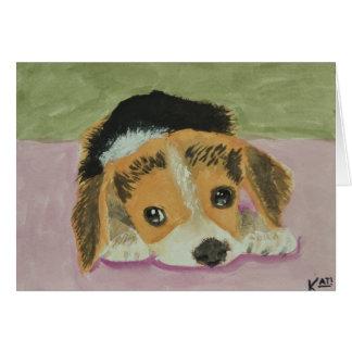 Beagle Notecards Felicitación