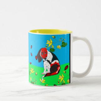 Beagle On The Hill Mug