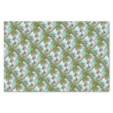 Beach Themed Beagle on Vacation Tropical Beach Tissue Paper