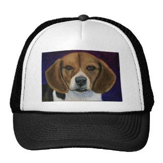 Beagle Painting - Dog Breed Art Hats