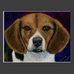 Beagle Painting - Dog Breed Art Postcards