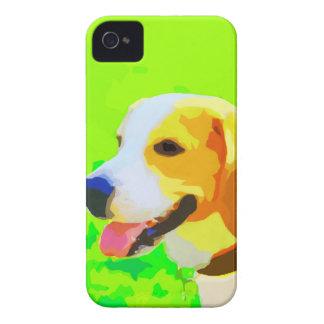 Beagle Painting Portrait Pop Art iPhone 4 Cases
