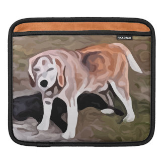 beagle painting sleeve for iPads