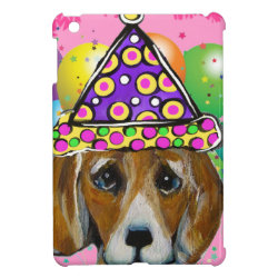 Beagle Party Dog Cover For The iPad Mini