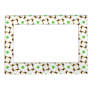 Beagle Pattern Magnetic Picture Frame
