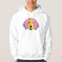 Beagle Pattern Pop Art Hoodie