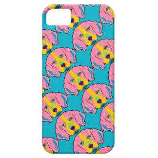 Beagle Pattern Pop Art iPhone SE/5/5s Case