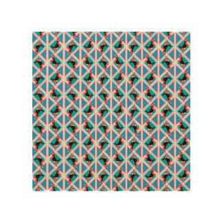 Beagle Pattern Quattrodog Wood Print