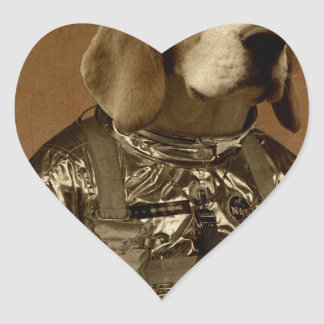 Beagle Pegatina En Forma De Corazón