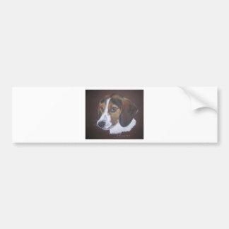 Beagle Pegatina Para Auto