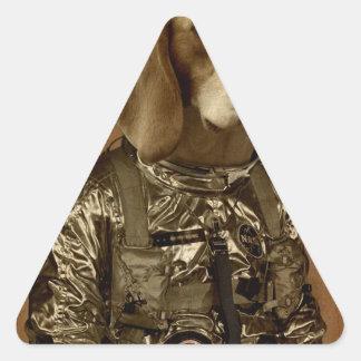 Beagle Pegatina Triangular