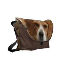 Beagle Pictures Messenger Bag