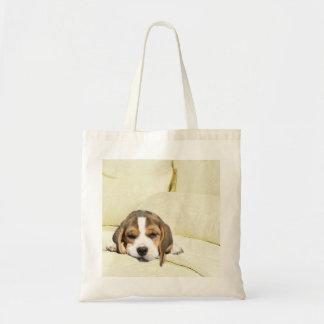 Beagle Pillow Talk Tote Bag