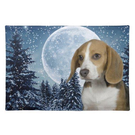 Beagle Placemat Manteles