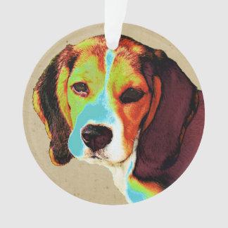 Beagle Pop Art Ornament