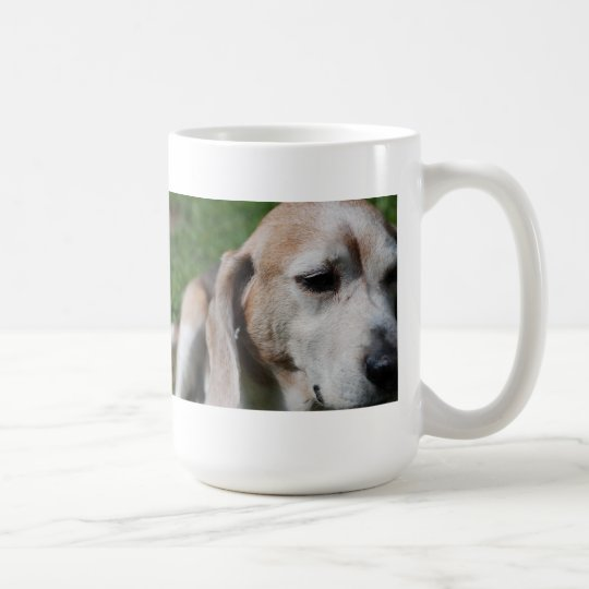 beagle portrait coffee mug