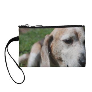 beagle portrait coin purse