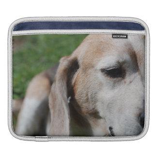 beagle portrait iPad sleeve