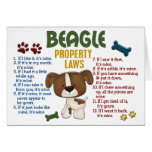 Beagle Property Laws 4 Cards
