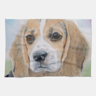 Beagle Pup Towels