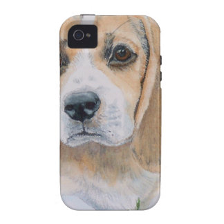 Beagle Pup Vibe iPhone 4 Cover